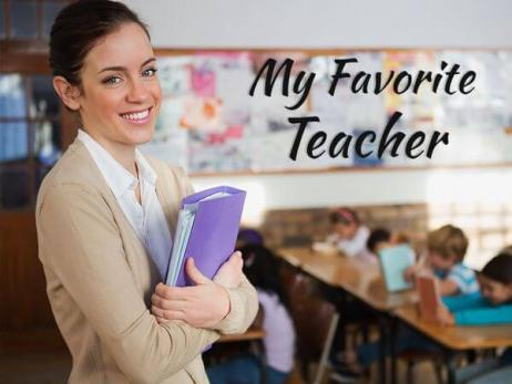 Descriptive Essay: My Favorite Teacher